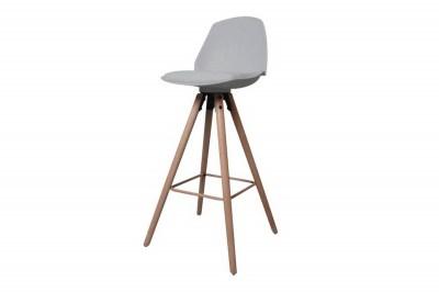 Dizajnová pultová stolička Nerea, šedá