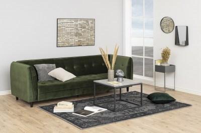 Dizajnová rozkladacia sedačka Alwyn, 235 cm, lesnícka zelená