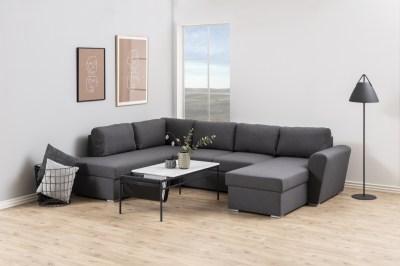 Dizajnová sedacia súprava Nanala 297 cm ľavá, šedá