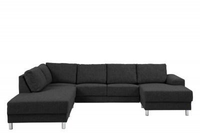 Dizajnová sedacia súprava Nim antracit 286 cm L