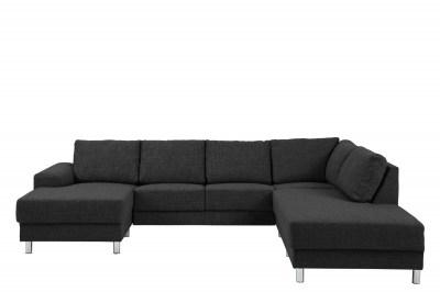 Dizajnová sedacia súprava Nim antracit 286 cm P