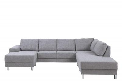 Dizajnová sedacia súprava Nim svetlošedá 286 cm P
