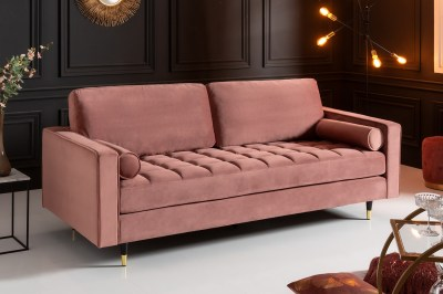 Dizajnová sedačka Adan 225 cm staroružový zamat