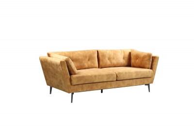 Dizajnová sedačka Billy 220 cm horčicový zamat