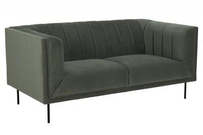 Dizajnová sedačka Darcila 172 cm sivo-zelená
