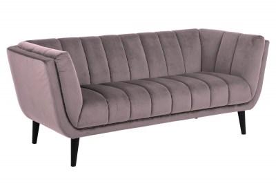 Dizajnová sedačka Raquel 184 cm ružová