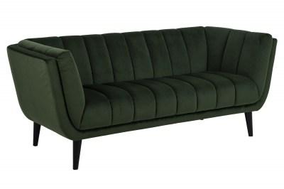 Dizajnová sedačka Raquel 184 cm zelená
