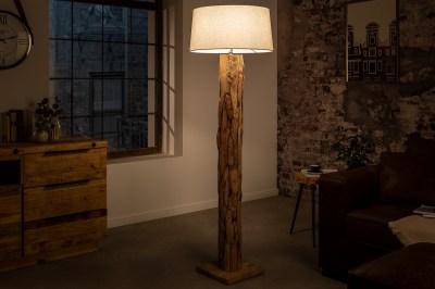 Dizajnová stojanová lampa Nash prírodná