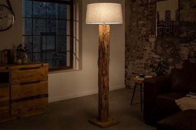 Dizajnová stojanová lampa Nash sivá