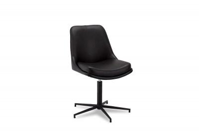 Dizajnová stolička Aeneas, čierna