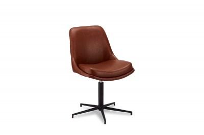 Dizajnová stolička Aeneas, svetlohnedá