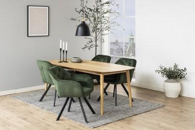 Dizajnová stolička Aletris, lesnícka zelená