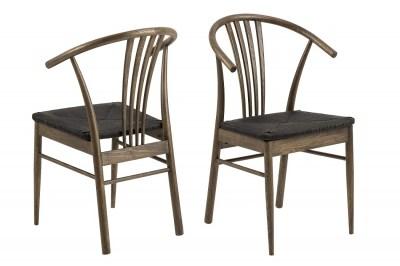 Dizajnová stolička Altair, tmavý dub