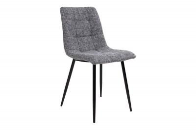 Dizajnová stolička Dominik sivá