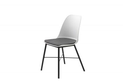 Dizajnová stolička Jeffery biela