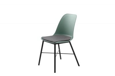 Dizajnová stolička Jeffery matná zelená