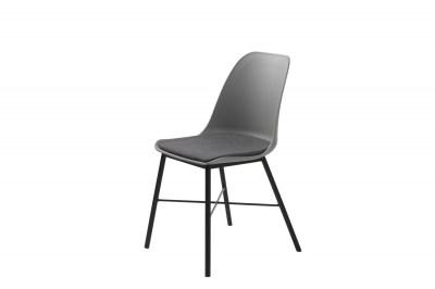 Dizajnová stolička Jeffery sivá