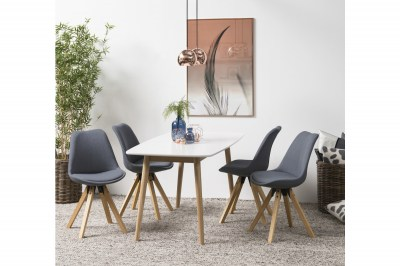 Dizajnová stolička Nascha, tmavo šedá