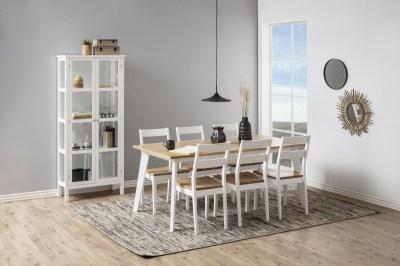 Dizajnová stolička Nedda, biela