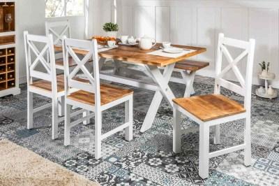 Dizajnová stolička Rodney mango