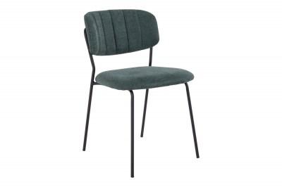 Dizajnová stolička Rosalie zelená