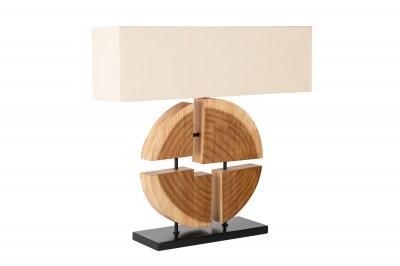 Dizajnová stolná lampa Abbatha 80 cm prírodná - béžová