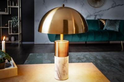 Dizajnová stolová lampa Aamira 52 cm zlatá