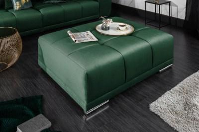 Dizajnová taburetka Cason 110 cm smaragdová