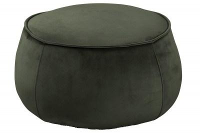 Dizajnová taburetka Nara, tmavo zelená