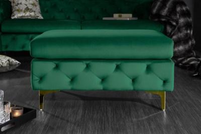 dizajnova-taburetka-rococo-zelena-zlata-00515