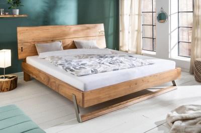 Dizajnová posteľ Massive 160 x 200 cm akácia