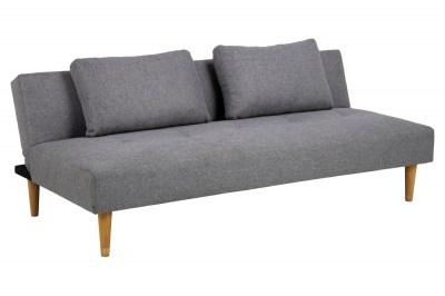 Dizajnová rozkladacia sedačka Amya 180 cm sivá - dub