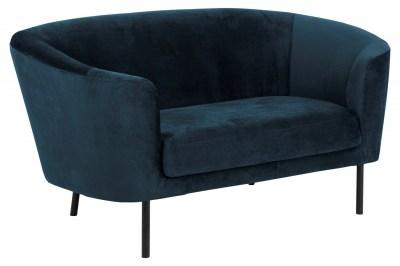 Dizajnová sedačka Nilla tmavomodrá 160 cm