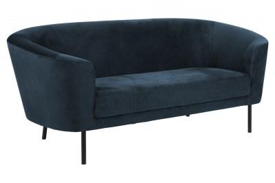 Dizajnová sedačka Nilla tmavomodrá 200 cm