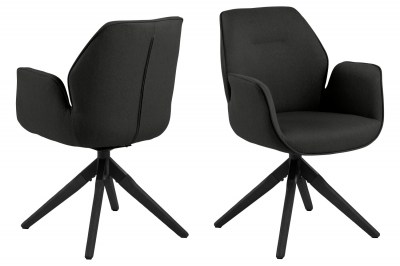 Dizajnová stolička Ariella čierna