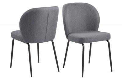 Dizajnová stolička Cindy sivá