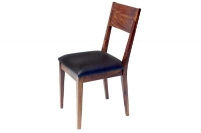 Dizajnová stolička Desmond hnedá sheesham