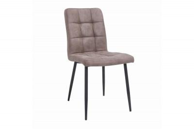 Dizajnová stolička Modern antik taupe