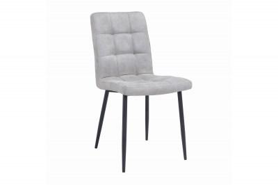 Dizajnová stolička Modern svetlosivá