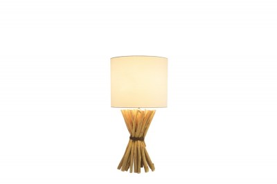 Dizajnová stolná lampa Leonel 54 cm longan