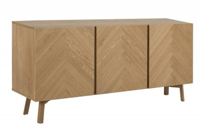 Dizajnová komoda Dangola 160 cm dub
