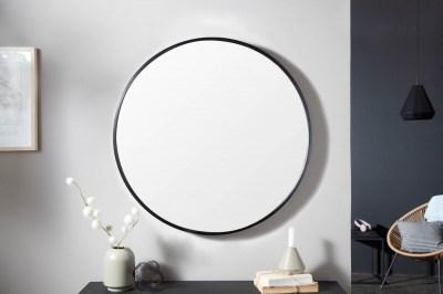 Dizajnové nástenné zrkadlo Daiwa 60 cm čierne