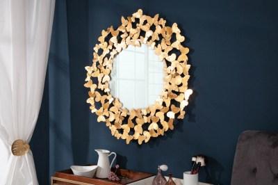 Dizajnové nástenné zrkadlo Fairy 78 cm zlaté