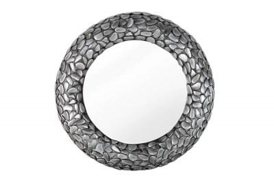 Dizajnové nástenné zrkadlo Mauricio II 82 cm sivé