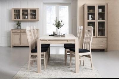 Dizajnový jedálenský stôl rozkladací Aalto, 180 - 280cm