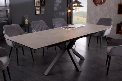 Dizajnový jedálenský stôl Age 180-225 cm keramika betón