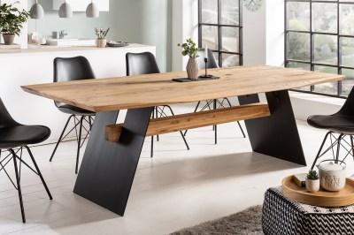 Dizajnový jedálenský stôl Galeno 200 cm divý dub
