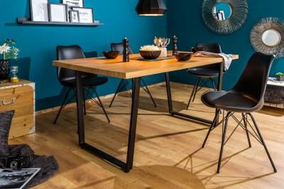 Dizajnový jedálenský stôl Giuliana 140 cm dub