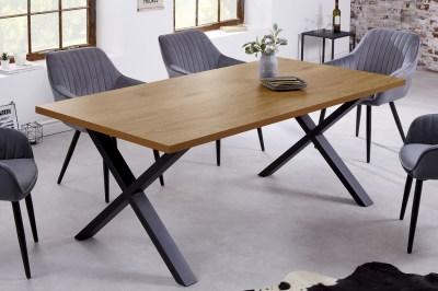 Dizajnový jedálenský stôl Giuliana X 180 cm dub