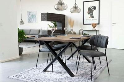 Dizajnový jedálenský stôl Jonathon 140 cm prírodný dub